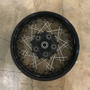 [알피나휠]Alpina Alloy Tubeless Wheel<br>Ducati Scrambler [진열상품 할인 20%]