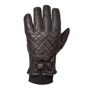 Ride & Sons The Bullit Insulated Leather gloves - Black