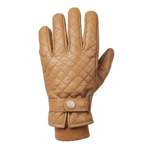 Ride & Sons The Bullit Insulated Leather Gloves<br>Camel