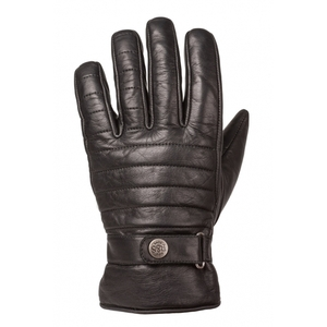 Ride & Sons The Empire Insulated Leather Short Gloves Black