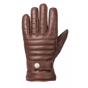 Ride & Sons The Empire Insulated Leather Short Gloves Brown