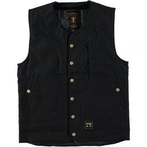 Wrenchmonkees MC Waistcoat - Black