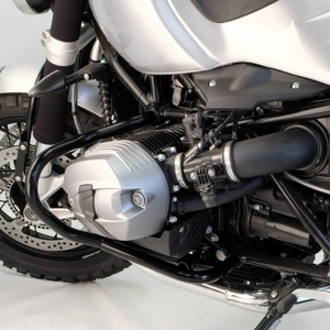 Unit Garage Crash Bars - Black
