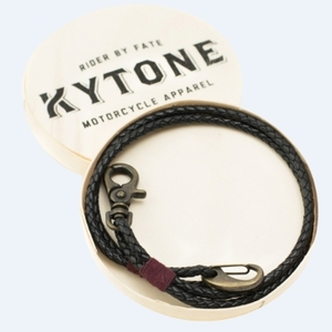 Kytone Leather Chain - Black