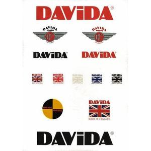 Davida Retail Sticker Pack