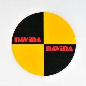 Davida Crash Decal Sticker