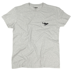 El Solitario - Basic T Shirt - Grey 30%세일