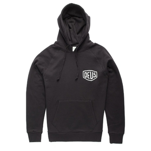 DEUS EX MACHINA<br>Camperdown Black Hoodie