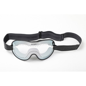 Caferacer Goggle<br>SILVER ANTI CRASH