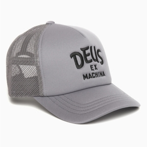 DEUS EX MACHINA<br>CURVE TRUCKER BLACK  GREY