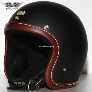 [티티앤코]TT&CO Super Magnum<br>Leather Rim Shot Brown - Matt Black