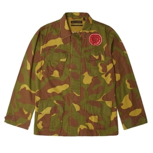 DEUS EX MACHINA<br>TRAVIS CAMO OVERSHIRT