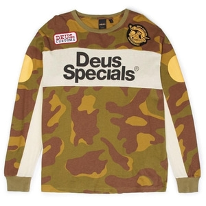 DEUS EX MACHINA<br>MOTO CAMO JERSEY [40%off]