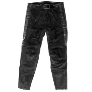 El Solitario Rascal Leather Pants Black