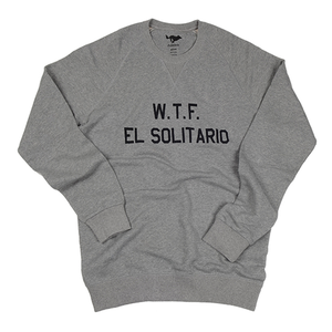 [엘솔리타리오] El Solitario WTF Sweatshirt Grey