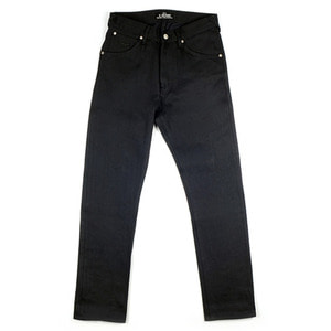 El Solitario Panhead Raw Selvedge Denim Black