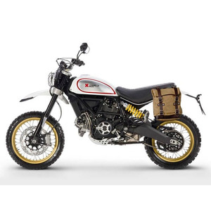 [유닛개러지] Unit Garage<br>Side Pannier Bag<br>Ducati Scrambler Desert Sled<br>두카티 스크램블러 사이드백