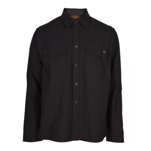 [렌치몽키스]Wrenchmonkees<br>Coated Shirt Black