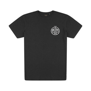 [데우스]DEUS EX MACHINA<br>Peaces Tee - Black (40%시즌오프)