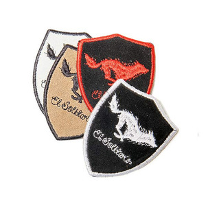 [엘솔리타리오] El Solitario<br>Lone Wolf Leather Patch