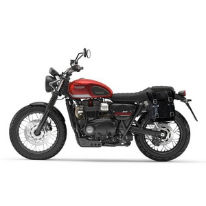 [유닛개러지] Unit Garage<br>Waxed Suede Side Pannier+Subframe<br>Triumph Street Series<br>트라이엄프 스트리트 시리즈 사이드백