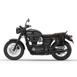 Unit Garage<br>Side Pannier Canvas+Subframe<br>Triumph T100-T120