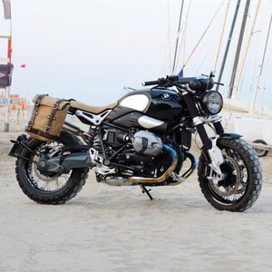 Unit Garage<br>Side Pannier Canvas+Subframe<br>BMW NineT Series