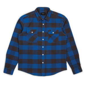 [브릭스톤]Brixton Bowery L/S Flannel<br>Royal/Grey (40%시즌오프)