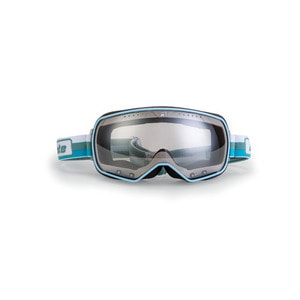 [아리에테]Ariete Feather Goggles<br>White / Turquoise