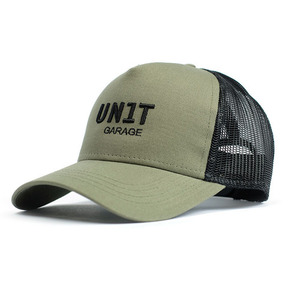 [유닛개러지] Unit Garage<br>Green Trucker Cap