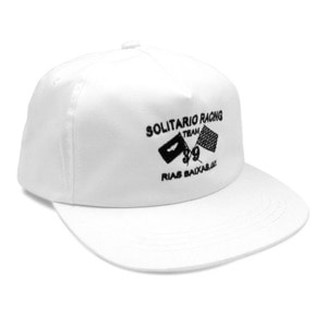 [엘솔리타리오] El Solitario<br>Racing Cap - White