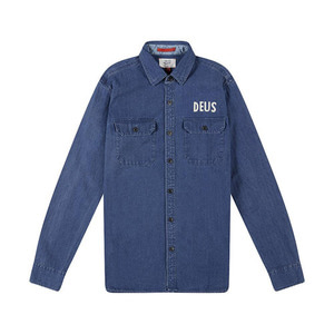 [데우스]DEUS EX MACHINA<br>Maxwell Denim Overshirt [30%할인]