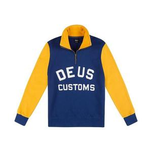[데우스]DEUS EX MACHINA<br>Handsford Half Zip - Blue/Yellow [30%할인]