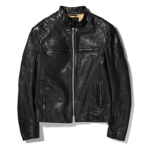 [데우스]DEUS EX MACHINA<BR>Damager Leather Jacket