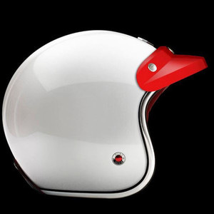 RUBY Helmet Peak Eclipse - Racing Red