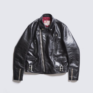 [애딕트클로즈] ADDICT CLOTHES<br>AD-02 Horsehide Double Riders Jacket