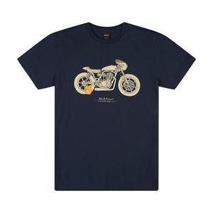 [데우스]DEUS EX MACHINA<br>Grievous Tee - Navy<br>[40% 시즌오프]