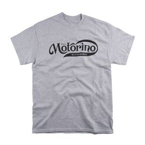 [모토리노] Motorino Logo Tee<br>Grey