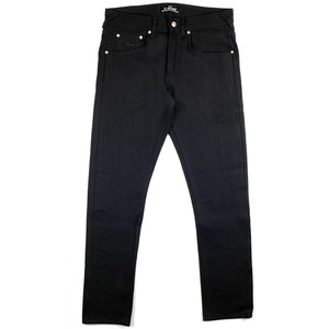 [엘솔리타리오] El Solitario ES-1<br>Tappered Raw Selvedge Denim Black