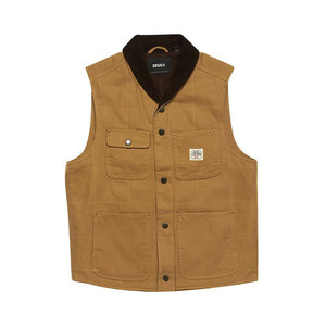 [데우스]DEUS EX MACHINA<br>Earl Canvas Vest<br>Driftwood Tan