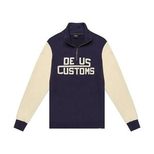 [데우스]DEUS EX MACHINA<br>Marston Zip Sweater<br>Denim Blue