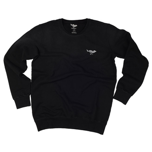 [엘솔리타리오]El Solitario<br>Basic Embroidered Sweatshirt<br>Black