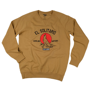 [엘솔리타리오]El Solitario<br>Howling Motors<br>Embroidered Sweatshirt