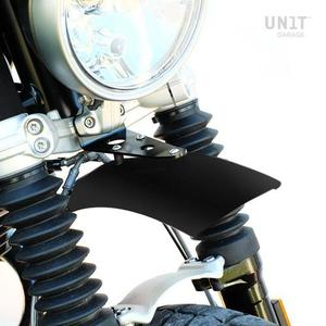 [유닛개러지] Unit Garage<br>Black Aluminum High Mudguard<br>BMW RnineT 프론트 하이 펜더