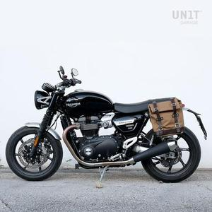 [유닛개러지] Unit Garage Side Pannier<br>Triumph Speed Twin 사이드백