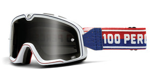 100% Barstow Classic Goggle<br>White