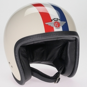 Davida Speedpster<br>Cream_Red/White/Blue