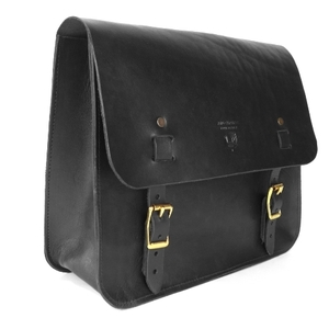 Red Clouds Collective Saddle Bag - Black