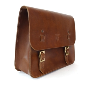 Red Clouds Collective Saddle Bag - Walnut