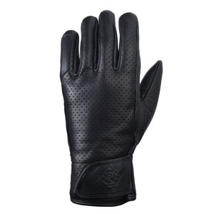 Ride & Sons Daytona Leather Gloves - Black